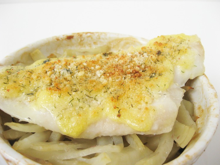 IMG 9345 Parmesan Crusted Flounder With Baked Matchstick Potatoes Recipe
