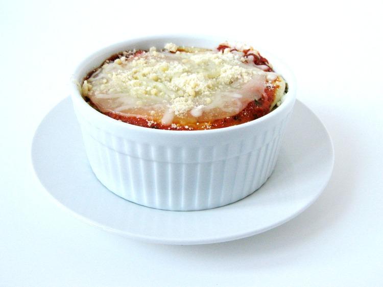 IMG 9533 Individual Serving Lasagna