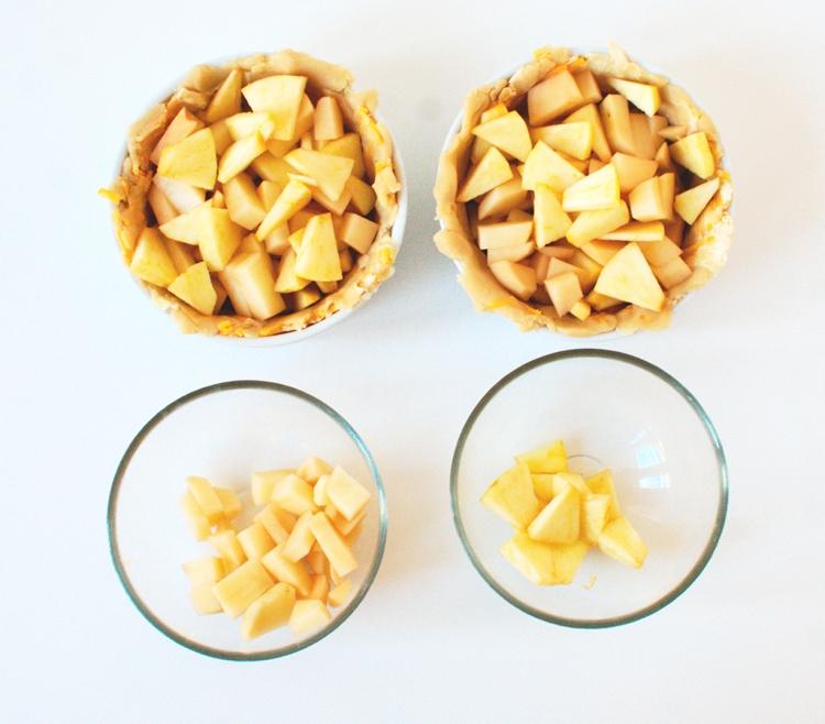 015crop Savory Ham Potato and Apple Pie