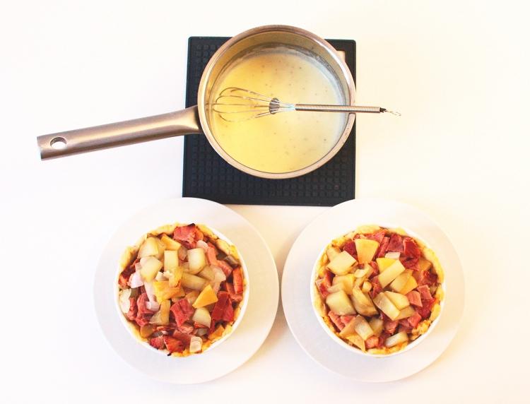 026crop Savory Ham Potato and Apple Pie
