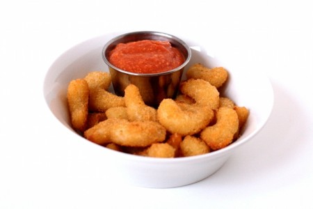 Cocktail Sauce with Fried Shrimp