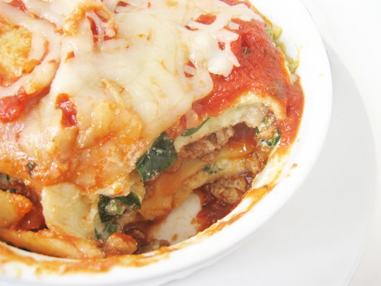 Individual Serving Lasagna (US)
